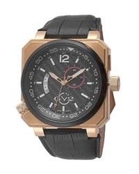 Gv2 48.2Mm Men's Xo Submarine Square Watch Black