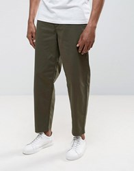 Selected Homme Wide Fit Chinos Forest Nig Green