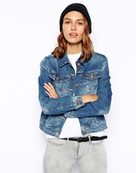 Levi's Denim Western Jacket Blue