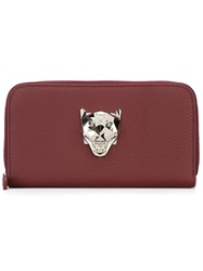 Philipp Plein 'Panther' Wallet Red