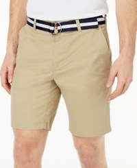 Club Room Men's Classic Fit Stretch Shorts Created For Macy's Creek Bed