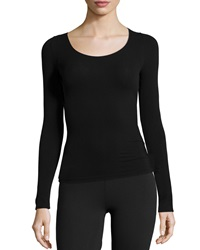 Commando Ballet Body Long Sleeve Layering Tee Black