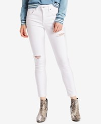 Levi's 721 Orange Tab High Rise Skinny Ankle Jeans Select For Macy's Another Dimension