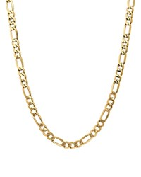 Bloomingdale's 14K Yellow Gold 7Mm Flat Figaro Chain Necklace 20 100 Exclusive