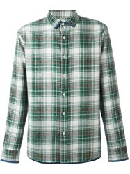 Al Duca D'aosta 1902 Checked Shirt Green
