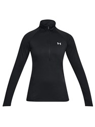 Under Armour Tech Long Sleeve Half Zip Training Hoodie Black Metallic