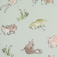 Osborne And Little Zagazoo Collection Quentin's Menagerie Wallpaper W606306