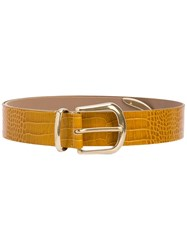 B Low The Belt Calf Leather Yellow