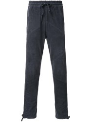 Marea Erre Drawstring Tapered Trousers Black