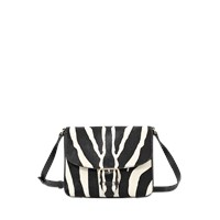 Burberry Small Dickens Zebra Bag