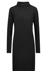 Line Lawrence Merino Wool And Cashmere Blend Dress Black