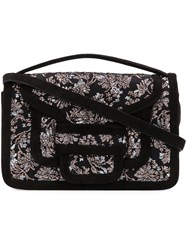 Pierre Hardy Alpha Clutch Bag Black