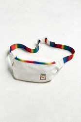 Puma Rainbow Sling Bag White