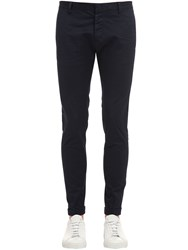 Dsquared 15.5Cm Skinny Stretch Cotton Twill Pants