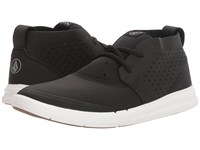 Volcom Draft Mid Black Men's Lace Up Casual Shoes