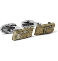 Paul Smith Car Copper Silver Tone Cufflinks Bronze