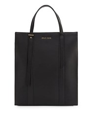 Cole Haan Vestry Maga Leather Tote Bag Black