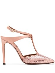 L'autre Chose Sequinned 100Mm Pumps 60