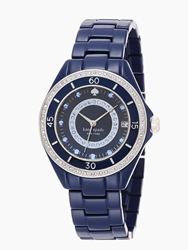 Kate Spade Pave Enamel Seaport Grand Navy
