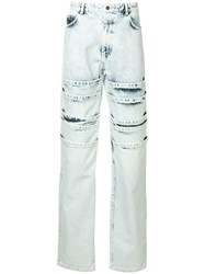 Y Project Layered Jeans Blue