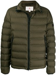 Peuterey Zipped Padded Jacket Green