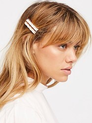 Free People Stone Salon Clips By