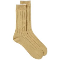 Mhl By Margaret Howell Mhl. Tipped Sock Yellow