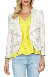 Women's Cece By Cynthia Steffe Tweed Asymmetrical Jacket