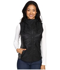 Smartwool Double Propulsion 60 Hooded Vest Black Women's Vest