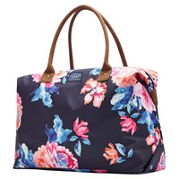 Joules Kembry Canvas Holdall Navy Rose