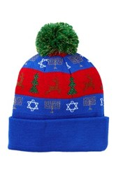 Bioworld Chrismakah Cuff Beanie Blue