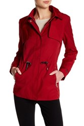 Tommy Hilfiger Zipper Detail Jacket Red
