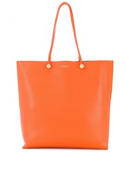 Furla Eden Tote Bag Orange