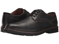 Dockers Parkway Plain Toe Oxford Black Soft Tumbled Full Grain Shoes