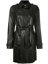 Desa Collection Astar Double Breasted Coat Black