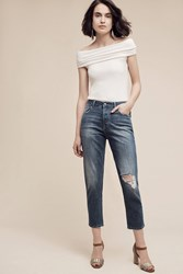 Anthropologie Dl1961 Goldie Ultra High Rise Petite Jeans Denim Light