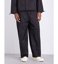 Bjorn Borg X Craig Green Punch Hole Shell Trousers Black