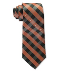 Eagles Wings Texas Longhorns Checked Tie Team Color