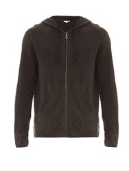 James Perse Cotton Jersey Hooded Sweatshirt