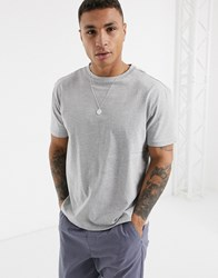 Another Influence Boxy T Shirt Grey