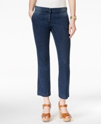 Michael Michael Kors Cropped Flared Denim Trousers