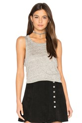 Chaser Pocket Shirttail Muscle Tee Gray