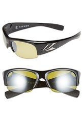Men's Kaenon 'Hard Kore' 63Mm Polarized Sunglasses Black Yellow Y35
