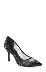 Women's Adrianna Papell 'Alec' Floral Mesh Pump Black