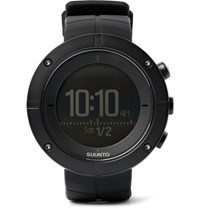 Suunto Kailash Carbon Tone Titanium Gps Watch Black