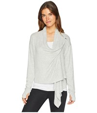 Roxy Feel It All Around Heritage Heather Clothing Gray
