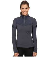 Spyder Lapis Therma Stretch T Neck Depth Women's Long Sleeve Pullover Black