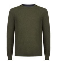 Ted Baker Marlin Textured Jumper Male Green