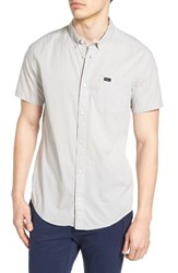 Rvca Men's 'That'll Do' Trim Fit Microdot Woven Shirt Mirage