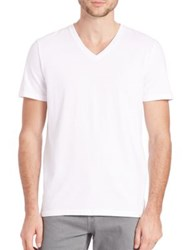 Ag Jeans The Commute Sueded Jersey T Shirt White
